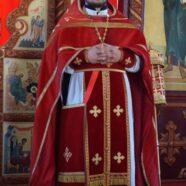 Пасхальное приветствие иерея Валерия Брунзы